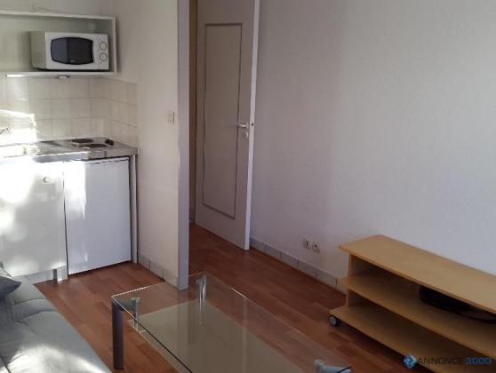 Studio 17 m² à louer à Nantes Rond-point route de Paris