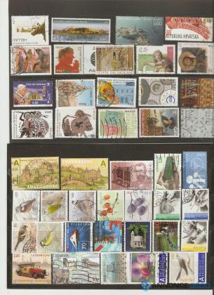 stamps exchange Russia & countries from ex-USSR